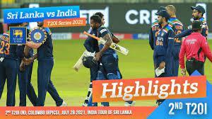 Sri Lanka vs India 2021 ...