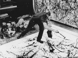 action painter jackson pollock is the most famous representative of the abstract expressionism movement