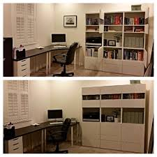 ikea besta office. Home Office. Ikea Table And Besta Unit. I Love The Pop Of Color From Office