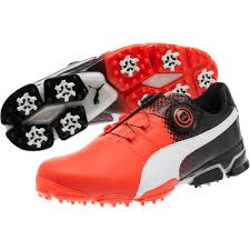 puma golf shoes. red blast puma golf shoes