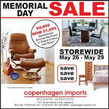furniture store newspaper ads. Shop Our Memorial Day Sale! At Copenhagen Imports In Sarasota. | Stressless Furniture - Sarasota, FL Pinterest Shops, Sales And Store Newspaper Ads O
