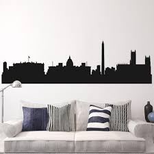 washington skyline decal