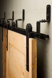 The Bypass sliding barn door hardware is efficient in tight spaces ...