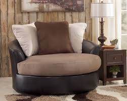 incredible round swivel accent chair otis contemporary 5360021 ashley furniture