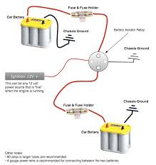 battery isolator wiring diagram wiring diagram typical battery isolator circuits arco dual battery isolator wiring diagram