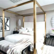 Full Size Canopy Bed For Girl Bedroom Sets Of Platform Frame Kids ...