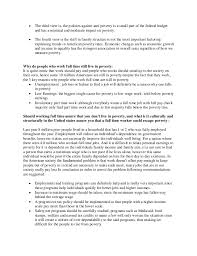 facts about poverty sample essay 2