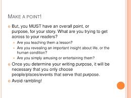 narrative essay presentation <br > 5