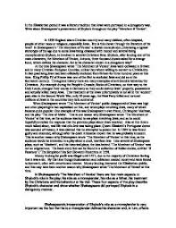 in the elizabethan period it was a literary traditionthat jews page 1 zoom in
