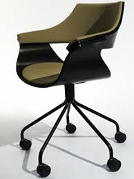modern wood office chair. modern office chair with seat and back cushions wood r