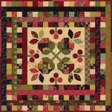 Midnight Blooms Quilt, free pattern for this Kim Diehl quilt ... & Snowball Blossoms quilt ~ 4 free quilt patterns from Kim Diehl, links on  Quilting Digest Adamdwight.com