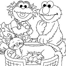 セサミストリート カラーリングブック 12064 Sesame Street ぬりえ 知育玩具 エルモ ステーショナリー