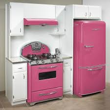 Retro Style Kitchen Appliance Pink 50s Style Kitchen Appliances Love Home Ideas Pinterest