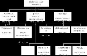 Источники финансирования организации их структура и оптимизация  Структура собственного капитала