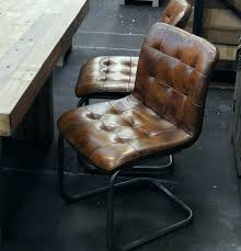vintage leather office chair. Wood And Metal Office Chair Vintage Leather Perfect As .