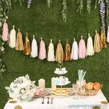 Tissue Paper Flower Ideas Us 1 89 5 Off 14 Inch Tissue Paper Tassel Garland Diy Wedding Decoration Paper Flower Decorations Birthdays Party Decorations Event Gift Pack In