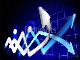 Business Graphics Stock Charts Stock Illustration