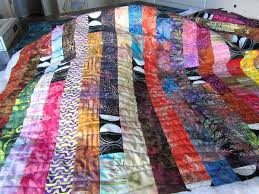 Quilts + Color: Potato Chip Quilt - Quilting In Progress & I think you can see the quilting pattern better in this photo. If you click  on the photo it will show you a much larger version of the quilt and you  will ... Adamdwight.com