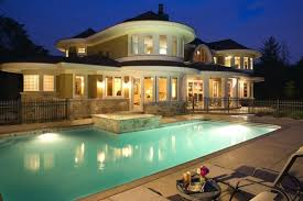 pool deck lighting ideas. pool fence ideas spaces with brick deck chimney lighting n