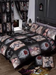 vampire diaries bedding s blankets dragon sets elegant bedroom furniture anne stokes single black gothic ont