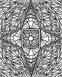 Small Picture Mosaic Coloring Sheet Grootfeestinfo