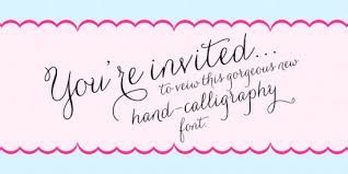 wedding fonts generate designs with wedding fonts Wedding Invitation Free Fonts Download carolyna by emily conners whether you use free fonts free downloadable wedding invitation fonts