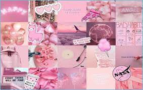 Pink Aesthetic Background Pc - Pink ...