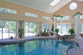 indoor home swimming pools. Indoor Home Swimming Pool With Awesome Waterfall Pools