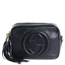 gucci disco bag. gucci leather small soho disco bag black. pinch/zoom gucci