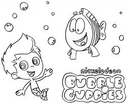 Printable 19 Bubble Guppies Coloring Pages 7108 - Bubble Guppies ...
