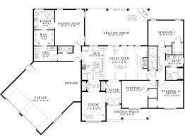 2 Master Bedroom Ranch House Plans  MemsahebnetDual Master Suite Home Plans