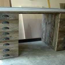 hand made reclaimed oak wood desk by wooden it be nice custommade com