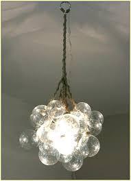 glass bubble chandelier home design ideas chandeliers cascading glass bubble chandelier