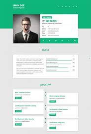 Free Web Resume Templates 100 Free Html Resume Cv Website Templates Xdesigns Templa Sevte 39