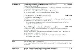 Example Of Profile For Resume Personal Profile Resume Example