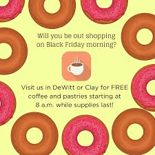 and if you re out ping on friday morning stop by fleet feet sports in dewitt or clay for free coffee and pastries between all the miles you ran this
