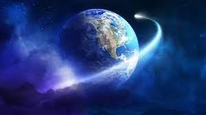 Earth Orbit Wide HD Wallpaper 4K Ultra ...