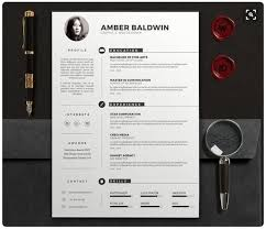 Modern Unique Resume Modern Resume Templates Docx To Make Recruiters Awe