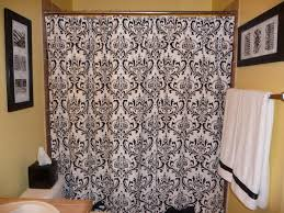 cream and black shower curtain. my cream and black shower curtain