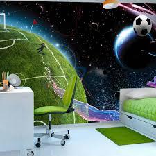 Fotobehang Space Match Voetbal Karo Art Vof