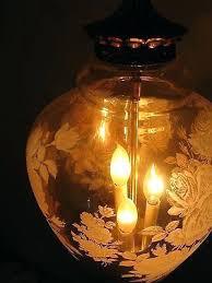 retro ceiling light rose hanging glass swag lamp chandelier gold mid next lights modern moon star