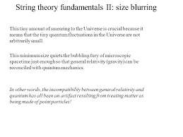 Small Picture Superstring Theory Topics Motivation ppt video online download