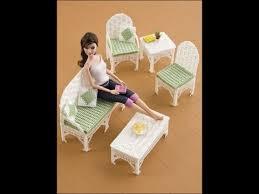 patterns furniture. Plastic Canvas Doll Furniture Patterns