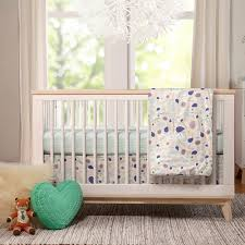 image of gender neutral nursery bedding
