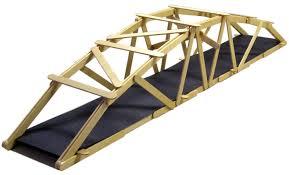 25 arched warren popsicle stick bridge