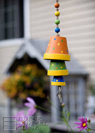 DIY Wind Chimes - Terracotta Flower Pot Wind Chime - Easy, Creative and  Cool Windchimes