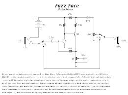 guitar circuits and schematics fuzzi amps and other effects distortion circuit fuzzface gif