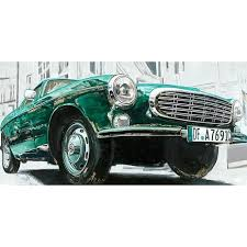 car wall decor classic euro car green wall decor car front end wall decor