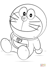 the doraemon coloring