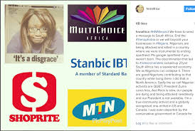 Image result for picture of MTN, Shoprite and DSTV together